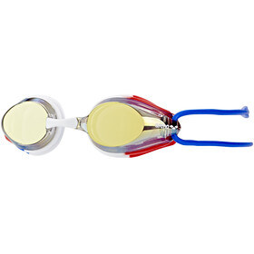 arena Tracks Jr Mirror Goggles Juniors gold-blue-red